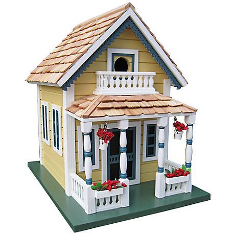 Newburyport Yellow Cottage Birdhouse