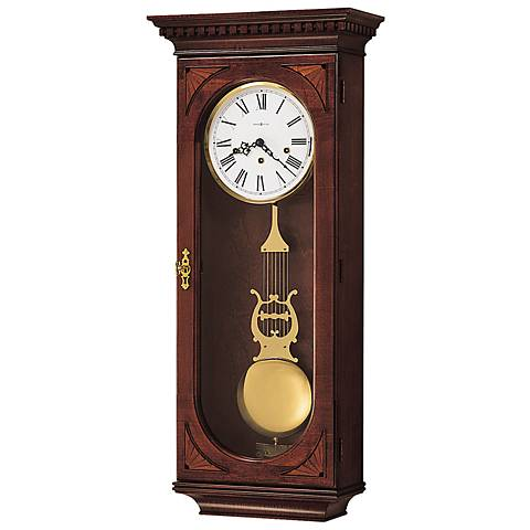 "Howard Miller Lewis 33 1/2"" High Wall Clock"