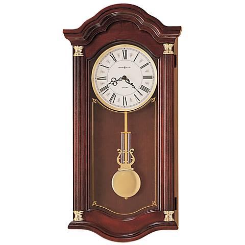 "Howard Miller Lambourn 28"" High Wall Clock"
