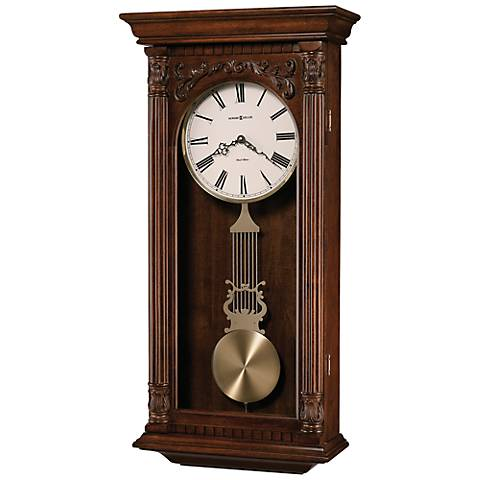 "Howard Miller Greer 34"" High Wall Clock"