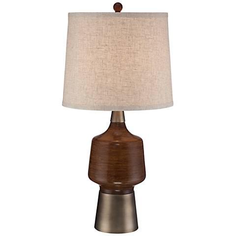 Northcrest Mid Century Table Lamp