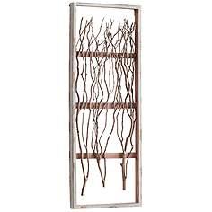 Vertical Wall Decor cyan design, wall art | lamps plus