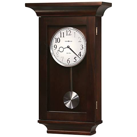 "Howard Miller Gerrit 26"" High Wall Clock"