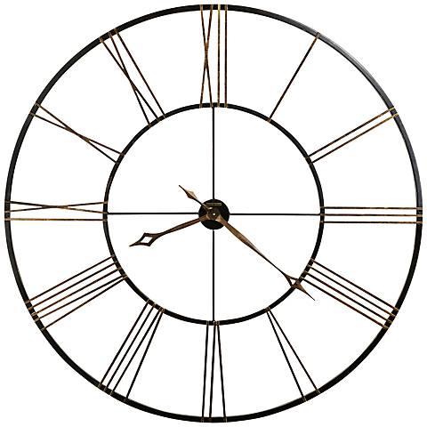 "Howard Miller Postema 49"" Round Wall Clock"