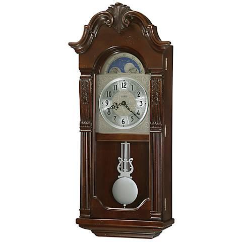 """Howard Miller Norristown 29"""" High Wall Clock"""