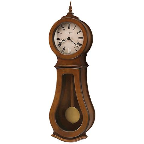 "Howard Miller Cleo 29"" High Wall Clock"