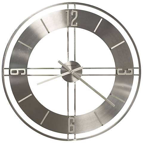 "Howard Miller Stapleton 30"" Round Wall Clock"
