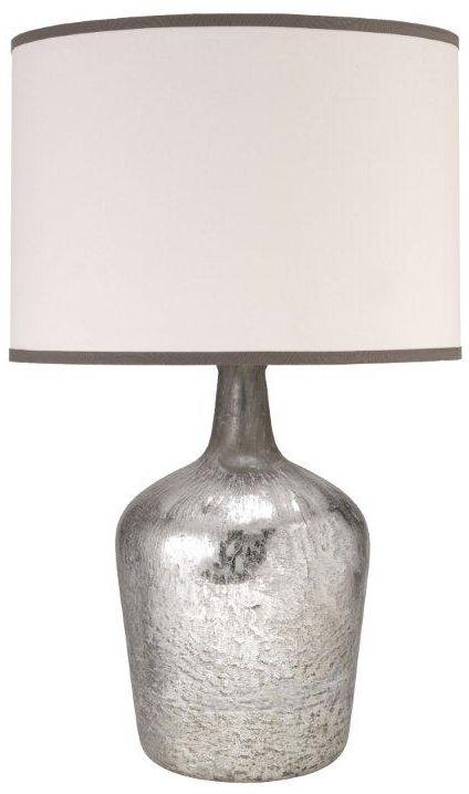 hilary plum jar mercury glass table lamp - Mercury Glass Table Lamp