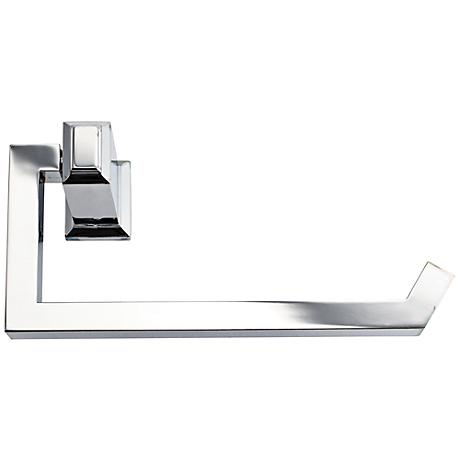 "Sutton Place 6 3/4""W Polished Chrome Toilet Paper Holder"