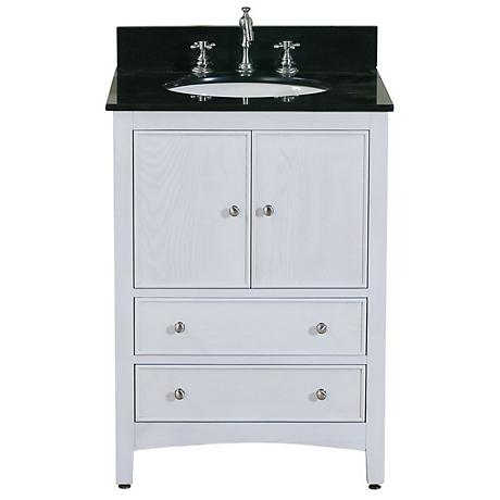 "Avanity Westwood 24"" Wide White Washed Vanity Combo"