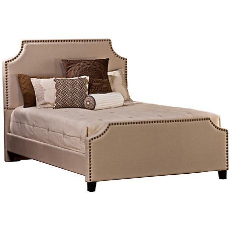 Hillsdale Dekland Ivory Upholstered Beds