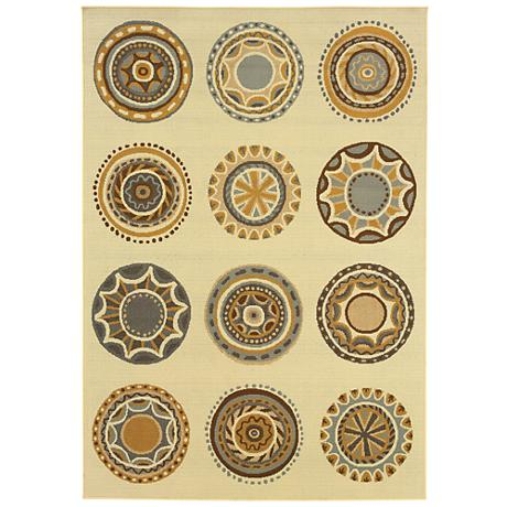 Oriental Weavers Bali Collection 3162U Indoor-Outdoor Rug