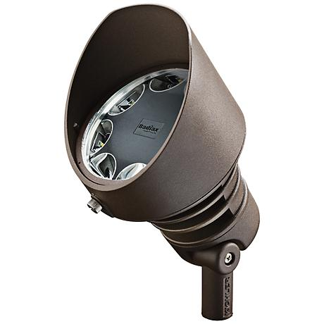 Radiax 3000K 60-Degree 21-Watt LED Bronze Flood Light