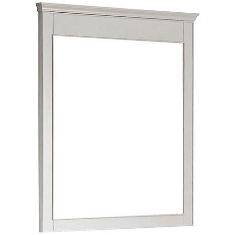 "Avanity Windsor 36"" High White Wall Mirror"
