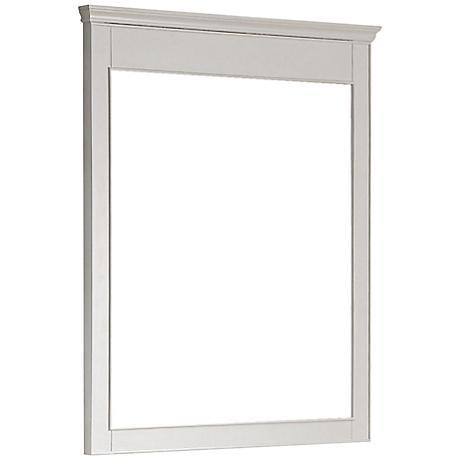 "Avanity Windsor 38"" High Large White Wall Mirror"