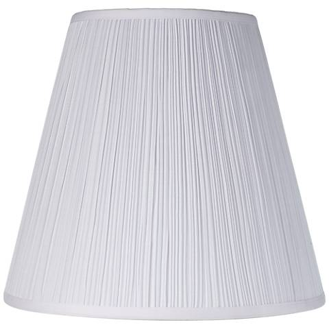 Brentwood Mushroom Pleated Shade 9x16x14.25 (Spider)