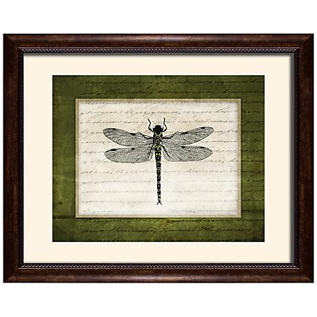"Dragonflies I 19 1/2"" Wide Wall Art"