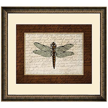 "Dragonflies II 19 1/2"" Wide Wall Art"