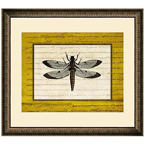 """Dragonflies III 19 1/2"""" Wide Wall Art"""