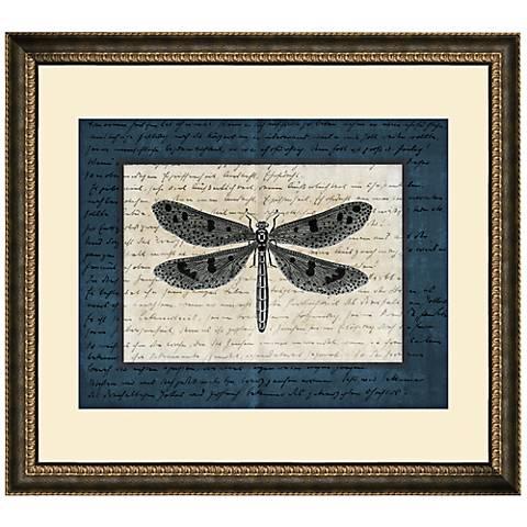 "Dragonflies IV 19 1/2"" Wide Wall Art"
