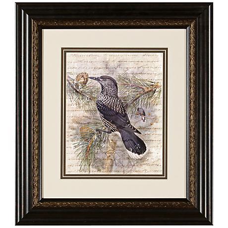 "Elegant Birds I 15 3/4"" Wide Wall Art"