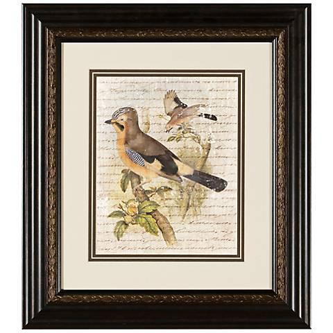 """Elegant Birds II 15 3/4"""" Wide Wall Art"""
