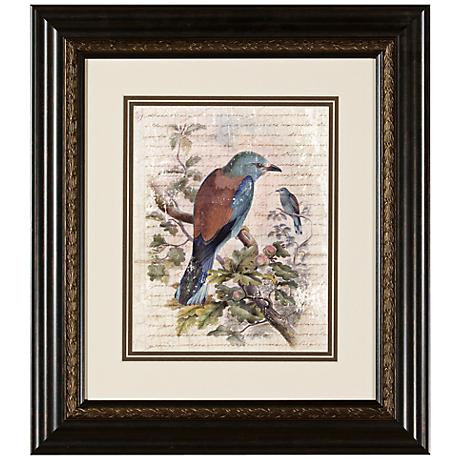 "Elegant Birds III 15 3/4"" Wide Wall Art"
