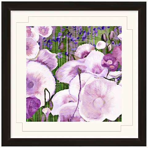 """Floral Dancing I 24"""" Wide Wall Art"""
