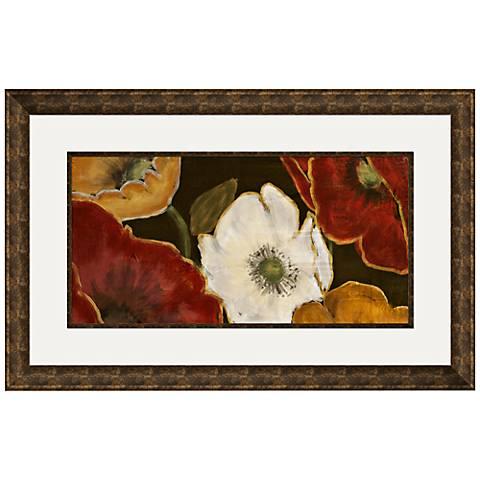 "Beautiful Poppies I 33 1/2"" Wide Wall Art"