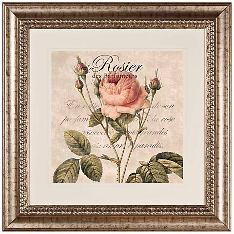"Rose I 27 1/2"" Wide Wall Art"