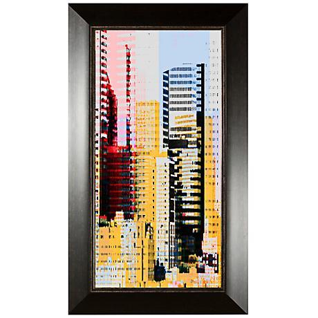 "Skyscraper II 35 3/4"" High Wall Art"
