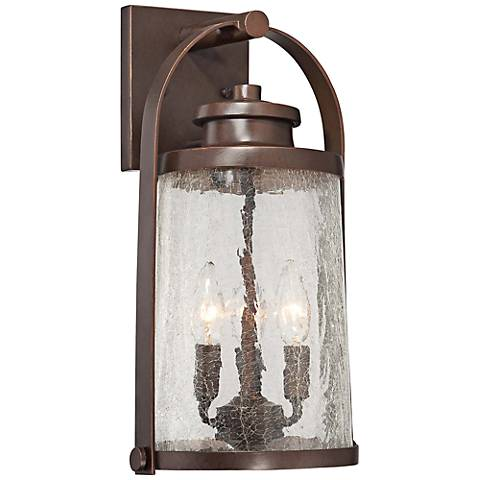 "Travessa Bronze 16 1/2"" High Outdoor Wall Light"
