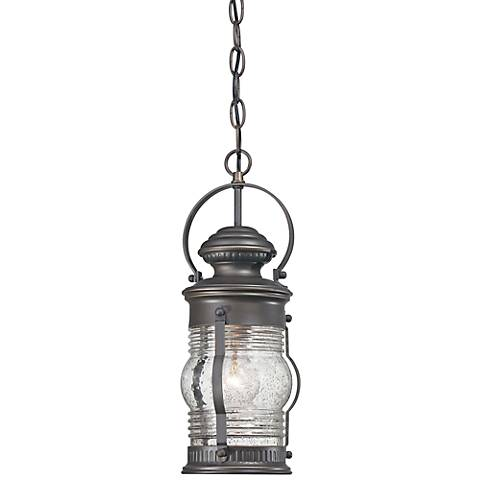 "Lynnfield 16"" High Oil-Rubbed Bronze Hanging Outdoor Light"
