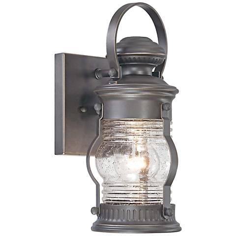 """Lynnfield 11 1/2"""" High Oil-Rubbed Bronze Outdoor Wall Light"""