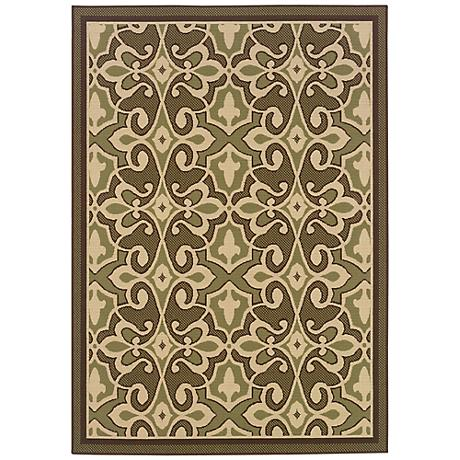 Oriental Weavers Montego Collection 2335G Indoor-Outdoor Rug