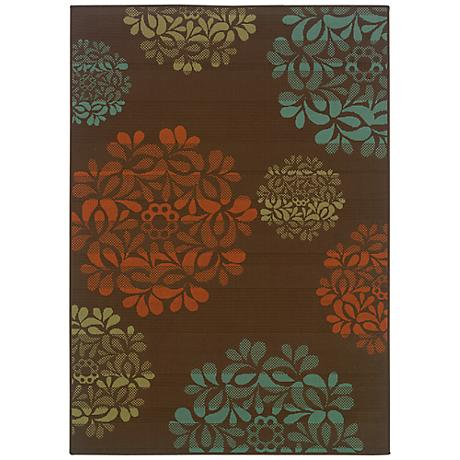 Oriental Weavers Montego Collection 2635N Indoor-Outdoor Rug