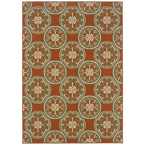 Oriental Weavers Montego Collection 8323D Indoor-Outdoor Rug
