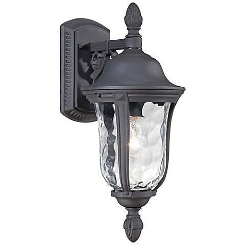 "Ardmore 17 1/2"" High Black Outdoor Wall Light"
