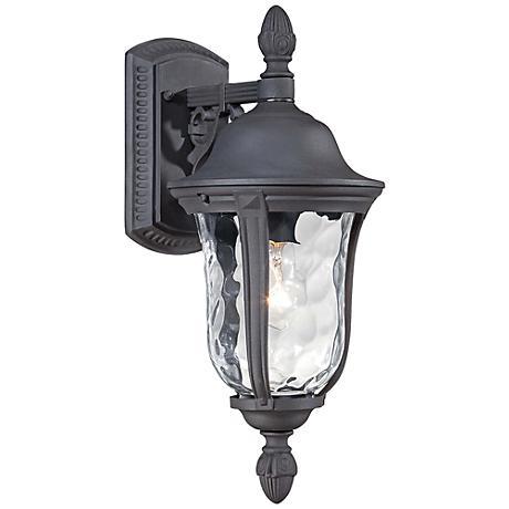 "Ardmore 17 1/2"" High Black Outdoor Wall Light"