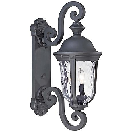 "Ardmore 24 1/2"" High Black Outdoor Wall Light"