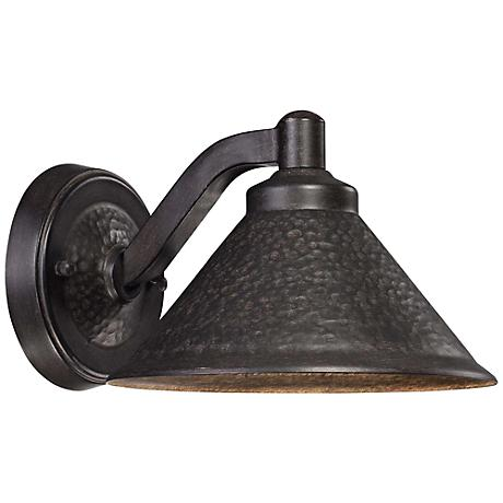 """Kirkham Bronze 8 1/2"""" Wide Dark Sky LED Outdoor Wall Light"""