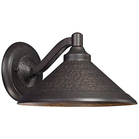 """Kirkham Bronze 11"""" Wide Dark Sky LED Outdoor Wall Light"""