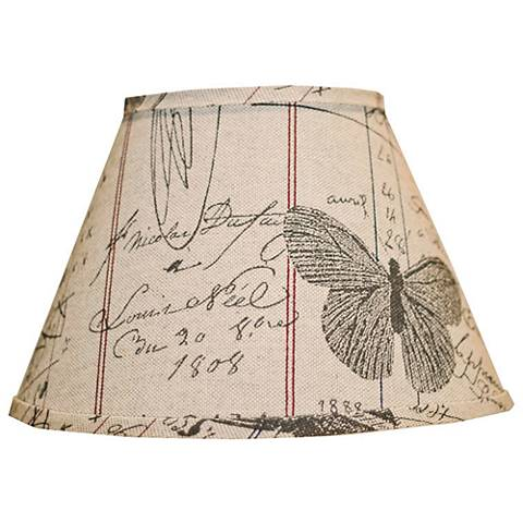 Antique Ledger And Fossil Empire Lamp Shade 6x12x8 (Spider)