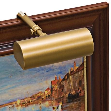 """House of Troy 5"""" Contemporary Gold Picture Light"""