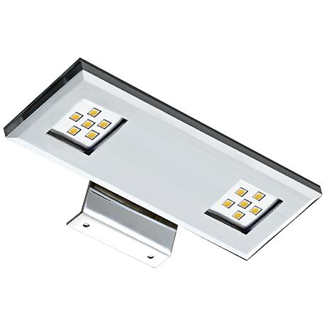 """LED 7 1/4"""" Wide Dual Chrome Picture Light"""