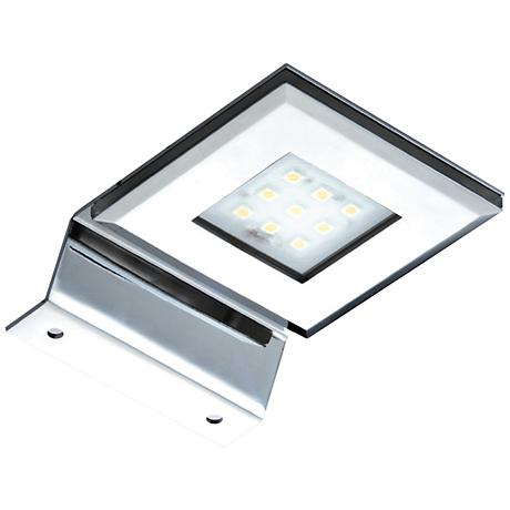 """LED 3 3/4"""" Wide Chrome Picture Light"""