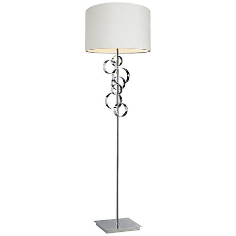 Dimond Avon Chrome Finish Floor Lamp