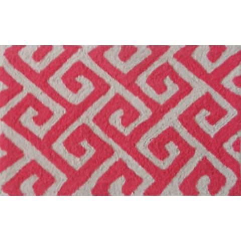 Greek Key Gray Indoor Outdoor Doormat