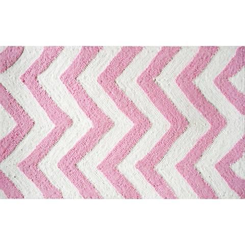Chevron Pink Indoor/Outdoor Doormat