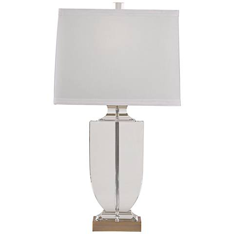 Athena Options Burnished Brass Table Lamp